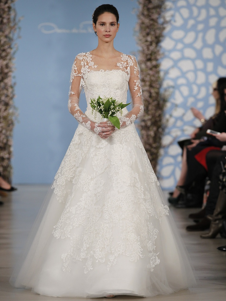 2life aisle style 5 jaw dropping bridal trends for 2014 for Current wedding dress trends