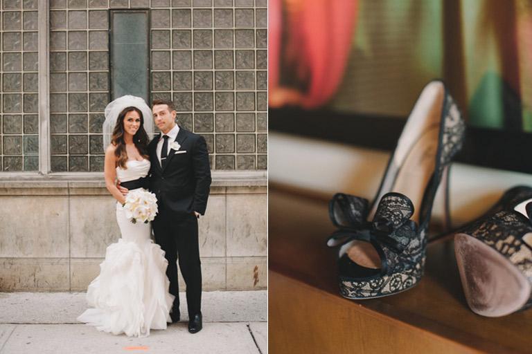 black lace Valentino pumps