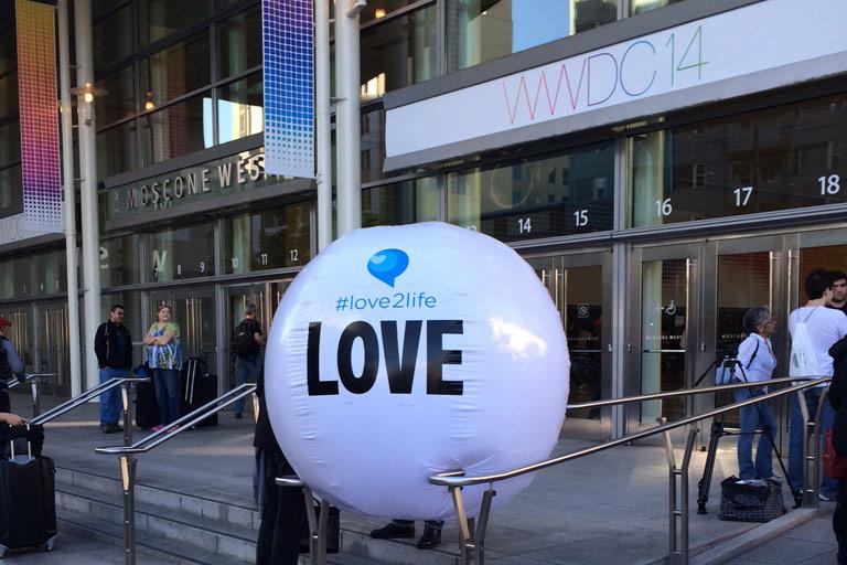 LoveBallWWDC1
