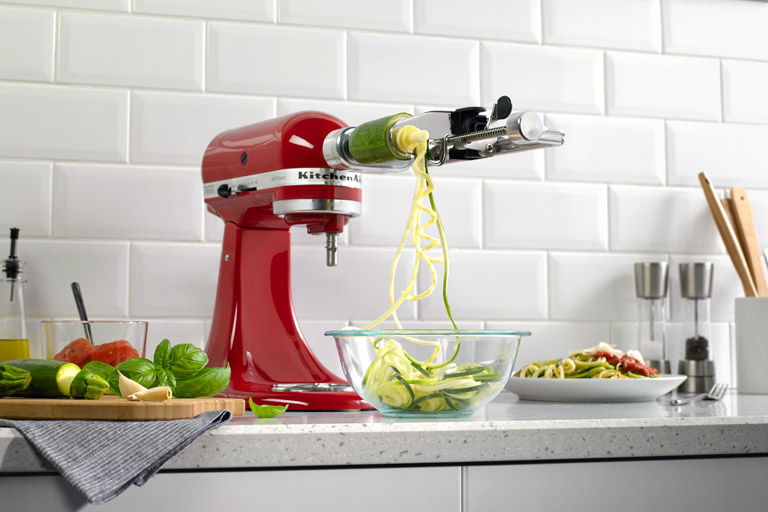2life Mouth Watering Spiralizer Recipes From Kitchenaid