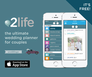 Download the 2life Weddings App