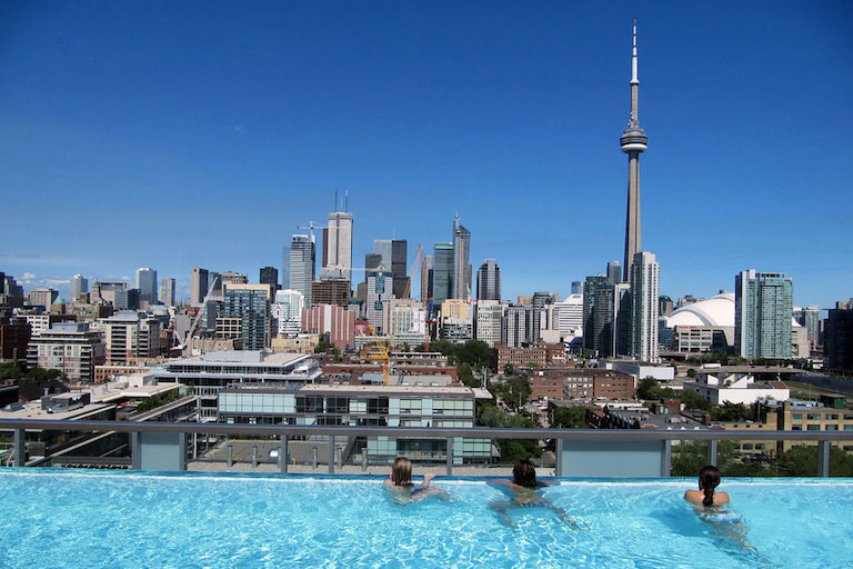 2life North America S Sexiest Rooftop Pools