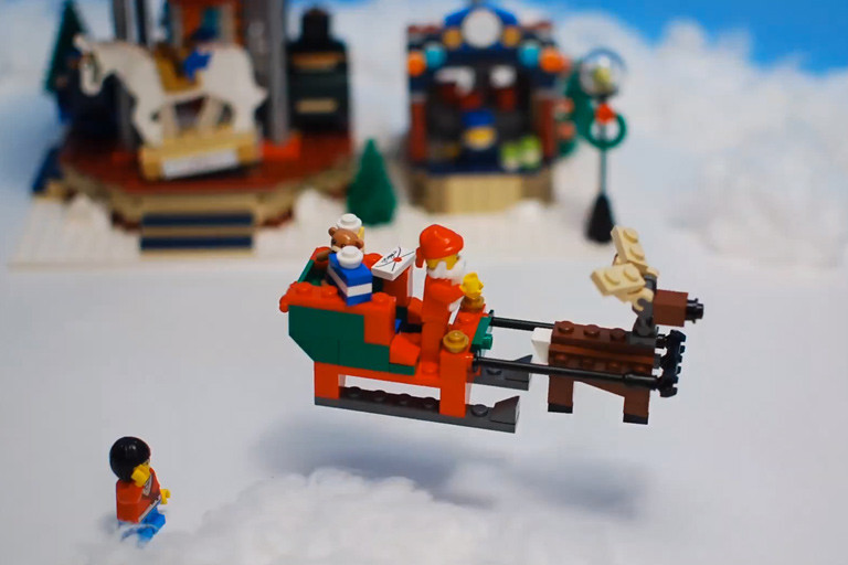 2life | WATCH: Awesome Stop-Motion Lego Christmas Video Card