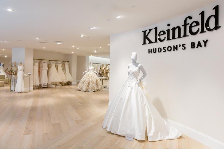 2life kleinfeld hudson s bay unveils stunning luxury for Wedding dress shop new york